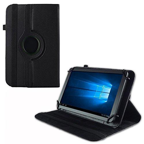 UC-Express Hülle Blaupunkt Enterprise 1020CH Tablet Tasche Schutzhülle Universal Case Cover, Farben:Schwarz