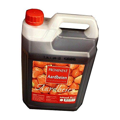Preisvergleich Produktbild Prominent Siroop Aardbei 5l Kanister (Getränke-Sirup, Erdbeere)