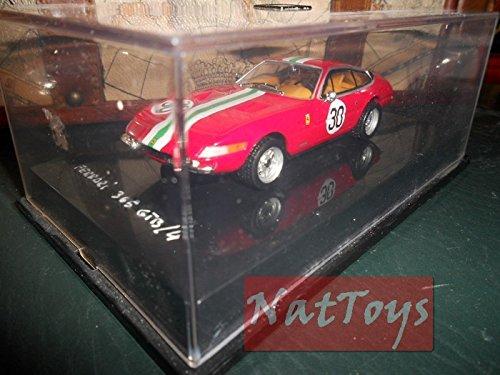 AMAES Hot Wheels Ferrari 365 GTB/4 Modellino 1:43 Die Cast Model