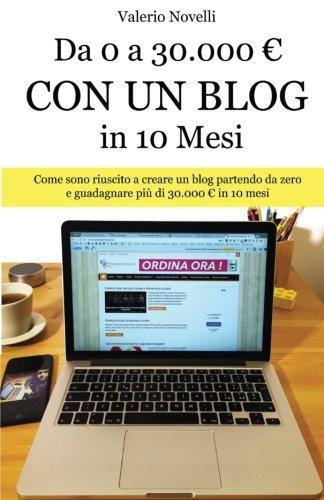 Da 0 a 30.000 Con Un Blog in 10 Mesi: Come Sono Riuscito a Creare Un Nuovo Blog E Guadagnare Più Di 30.000 in 10 Mesi