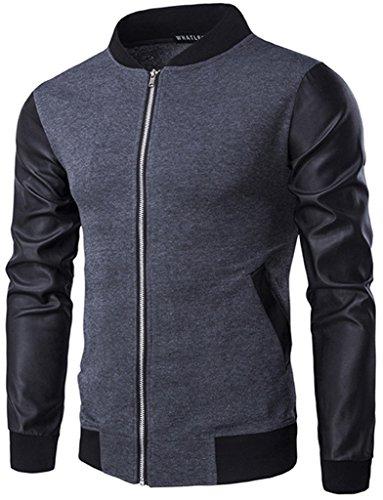 whatlees-unisex-hip-hop-urban-basic-bomber-jacket-ma-1-baseball-jackets-with-faux-leather-arm-b140-g
