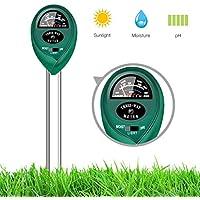 Bodenwasser-Monitor Keine Batterie erforderlich Bauernhof ideal f/ür Garten Rasen Luftfeuchtigkeitspr/üfer AnySell Bodenfeuchtigkeitssensor Messger/ät Hygrometer Indoor /& Outdoor