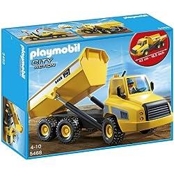 Playmobil Construcción - Camión contenedor (5468)