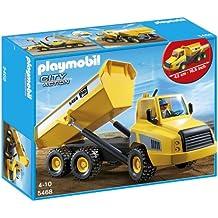 Playmobil Construcción - Camión contenedor ...