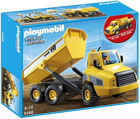 Playmobil Camion Benne - Playmobil - 5468 - Figurine - Grand