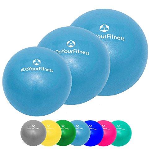 Mini-balle de pilates »Balle« balle de massage des fascias pour soulager les tensions et les douleurs musculaires, disponible dans différentes tailles et couleurs : bleu marin, turqoise, argent, violet, vert, jaune, orange et azur