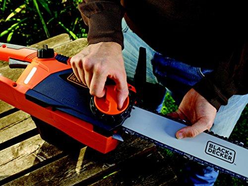 Black+Decker Elektro-Kettensäge, Motorsäge CS2245