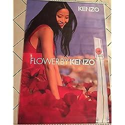 AFFICHE - Kenzo  Flower - Parfum - Shu Qi - Abribus - 120x175 cm - AFFICHE / POSTER