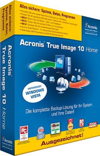 Acronis True Image 10 Home