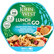 John West Light Lunch Italian Style Tuna Salad, 220g