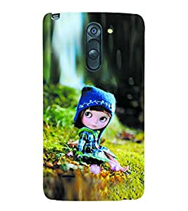 Vizagbeats Baby Doll Back Case Cover for LG G3 Stylus::LG G3 Stylus D690N::LG G3 Stylus D690