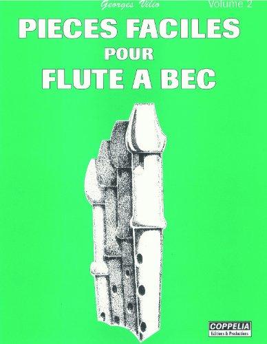 Partition: Flute a bec vol. 2 pieces faciles