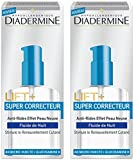 Diadermine - Lift + - Soin Nuit Anti Tâches - Super Correcteur Fluide - 50 ml - Lot de 2