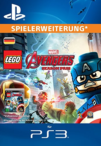 LEGO Marvel's Avengers - Season Pass [Spielerweiterung] [PS3 PSN Code - deutsches - Games Avengers Lego Video