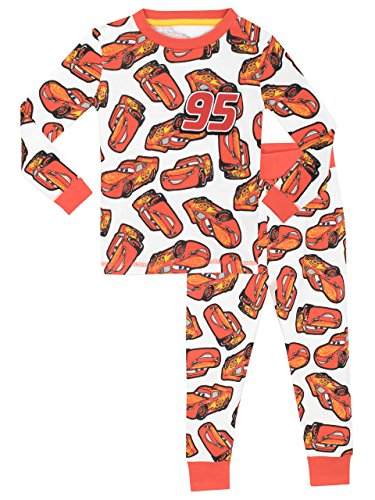 Disney Cars Jungen Cars Lightning McQueen Schlafanzug - Slim Fit - 104