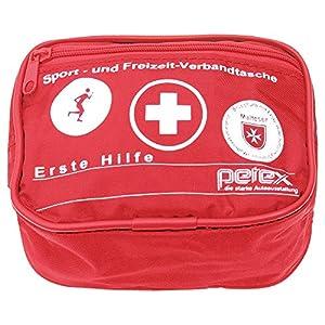 PETEX 43930112 Sport und Freizeit Verbandtasche, Rot,
