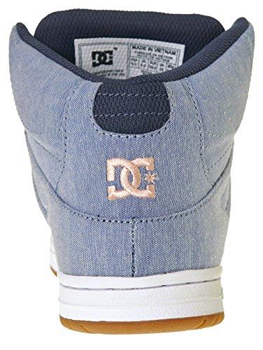 DC Donna Scarpe / Sneaker Rebound High TX SE Blu scuro