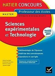 Epreuve Ecrite Sciences expérimentales et Technologie Concours 2013: Concours Professeur des Ecoles