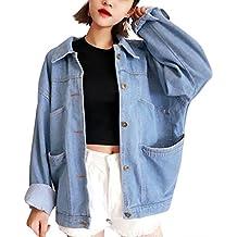 Suchergebnis auf f r jeansjacke damen oversize - Jeansjacke damen oversize ...