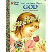 My Little Book About God (Little Golden Treasures)