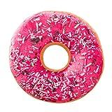Haushalt & Wohnen PINEsong Weicher Plüsch Kissen gefüllte Sitzpolster Sweet Donut Foods Kissenbezug Koffer Spielzeug (E)