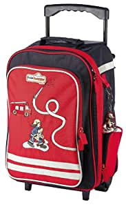 sigikid 23331 - Bags Frido Firefighter Trolley
