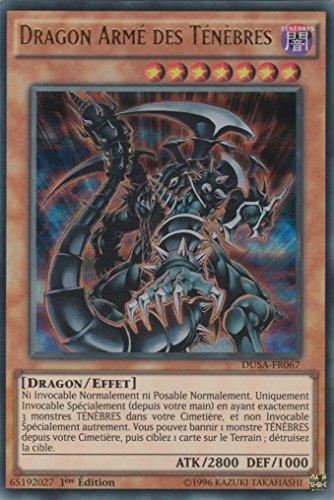 "Carte Yu-Gi-Oh! ""Dragon Armé des Ténèbres"" DUSA-FR067 - VF/ULTRA RARE"
