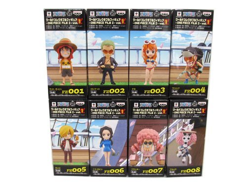 One Piece World Collectable Figure ONE PIECE FILM Z vol.1 all eight species set Banpresto Prize (japan import)