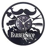 Orologio in Vinile da Parete LP 33 Giri Instant Karma Idea Regalo Vintage Handmade - Parrucchiere Salone Bellezza Barbiere Barber Shop