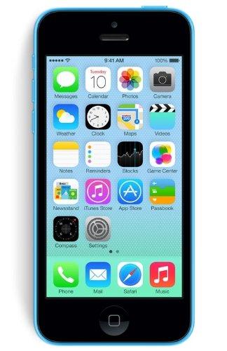 Apple iPhone 5C Smartphone débloqué 4G (4 pouces - 8 Go - iOS 7) Bleu
