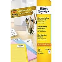 Avery Zweckform-Etichette, 35,6 x 16,9 mm, colore: bianco -  Confronta prezzi e modelli