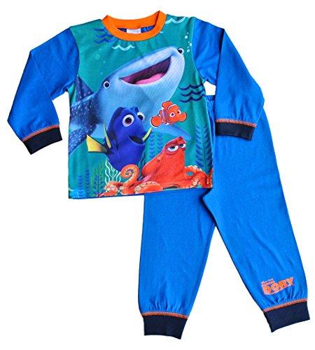 ThePyjamaFactory Boys Disney Pixar Finding Dory Long Pyjamas PJS 2 3 4 5 Years Boys Blue W16
