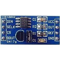 Bobury x9c104 Potenciómetro digital del módulo 100 de potenciómetro digital para ajustar el balance del puente