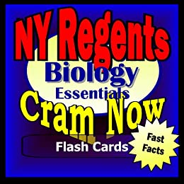 NY Regents Prep Test BIOLOGY: The Living Environment Flash Cards--CRAM NOW!--Regents Exam Review Book & Study Guide (NY Regents Cram Now! 3) (English Edition) par [NY Regents Cram Now!]