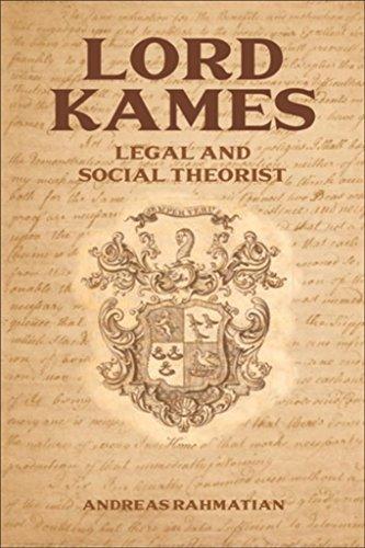 Lord Kames (English Edition)