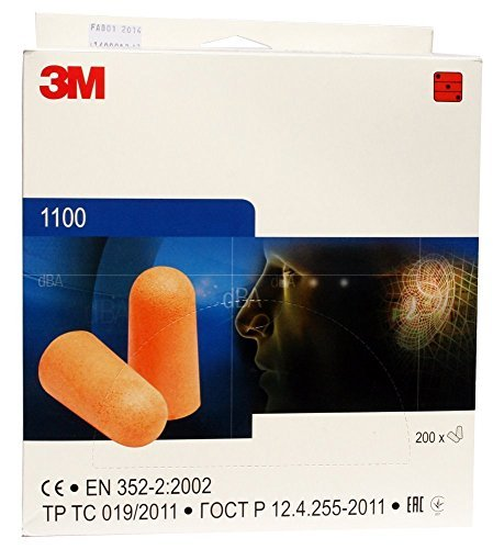 2 X 20 Pairs of 3M 1100 Ear Plugs by 3M