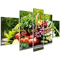 Amazon.it: quadri con frutta - Decorazioni per interni: Casa e cucina