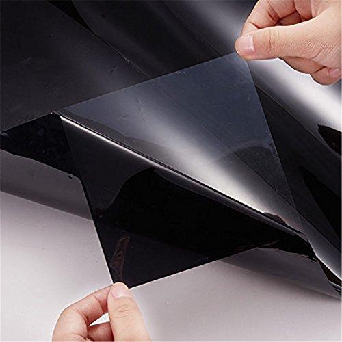 Kingnew Auto Fenster Folien Solar Schutz Getönte Folie Seite Aufkleber, 300x 50cm