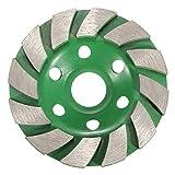 EEvER Multitool-Werkzeugzubehör Diamant Rad, 100mm Diamant Schleifen Tasse Rad Scheibe Betonmauerwerk Stein Werkzeug