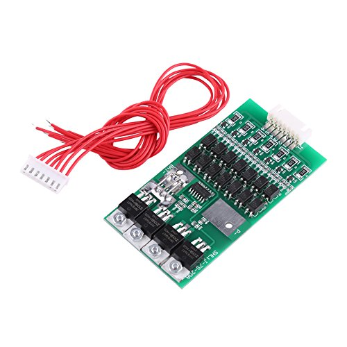 Akozon Batterie BMS Board Module 7S 24V 20A Lithium Batterie BMS Protection Board mit Balancing Funktion 24 Volt 20 Amp