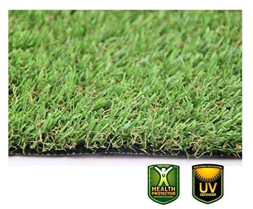 XONE Prato 25 mm H2x10mt Tot 20m2 | Erba Giardino Artificiale | Tappeto Verde Erba | Manto Prato Sintetico 25mm