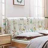 GLP Bett großes Rückensofakissen Bett Kopfkissen langes Kissen Bett Rückenpolster weiche Tasche doppelt waschen und waschen 6 Farben, 10 Größen (mit Kopfteil/ohne Kopfteil)