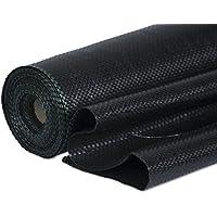 Windhager Unterbodengewebe, Unkrautvlies, Sandkastenvlies Bändchengewebe; 100 g/m²; 10 x 2 m, schwarz
