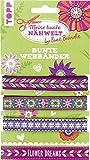 Bine Brändle Bunte Webbänder Flower Dreams: Webbänder in 3 tollen Designs zum Nähen und Verzieren