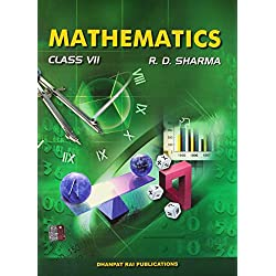 R.D. Sharma Mathematics for Class VII With Free Car Anti Slip Mat