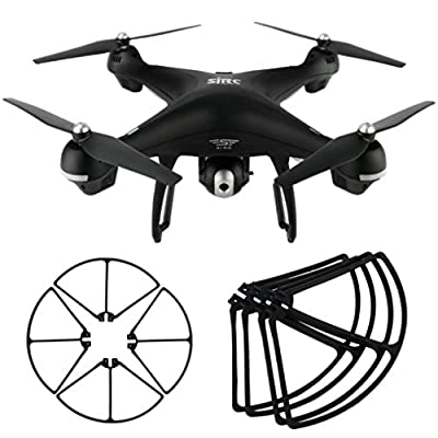 Spritumn For Holy Stone HS100 S70W Dorne Quadcopter Propeller Guards Circle Quick Release Easy Mount, Detach No Tool Needed, 4 Piece
