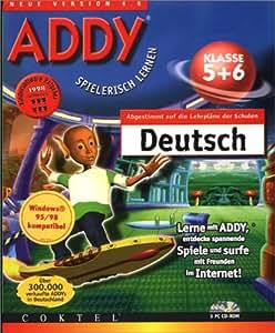 ADDY: Deutsch Klasse 5 und 6. 3 CD- ROMs für Windows 95