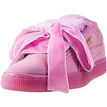 PUMA zapatos bajos de las zapatillas de deporte de las mujeres 363 229 01 SUEDE REINICIAR WN DE CORAZÓN