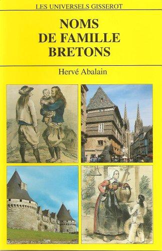 Noms de famille bretons : 4812 Noms de famille