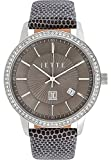 JETTE Time Damen-Armbanduhr REFLECTION Analog Quarz One Size, taupe, braun